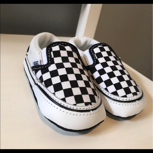 97d6cb680b26 Vans crib shoes NWT